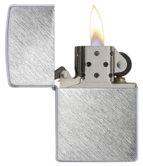 Zippo Herringbone Sweep Brushed Chrome 2