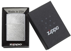 Zippo Herringbone Sweep Brushed Chrome 4