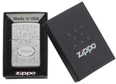 Zippo Gleaming Patina High Polish Chrome 4