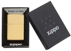 Zippo High Polished Brass 4