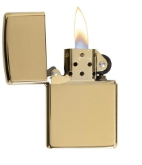 Zippo High Polished Brass 2