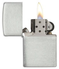 Zippo Armor Brushed Sterling Silver 2