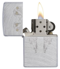 Zippo Angel Wings Chrome Arch 2