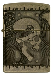 Zippo Steampunk 360 Multicut Antique Brass Armor 3
