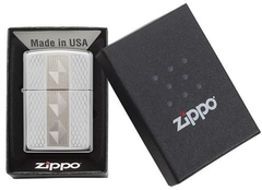 Zippo Diamond Grill High Polish Chrome 4