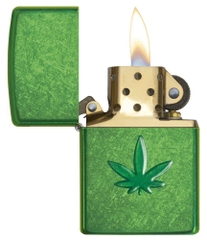 Zippo Leaf Design Pocket Lighters 29662 3