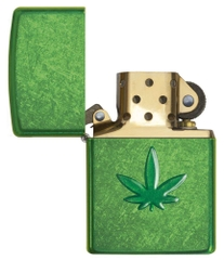 Zippo Leaf Design Pocket Lighters 29662 2