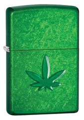 Zippo Leaf Design Pocket Lighters 29662