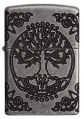 Zippo Armor Tree of Life Design Pocket Lighter 29670 2