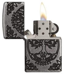 Zippo Armor Tree of Life Design Pocket Lighter 29670 3