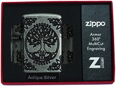 Zippo Armor Tree of Life Design Pocket Lighter 29670 6