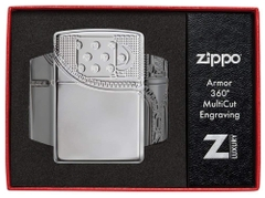 Zippo Armor Deep Carve Lighters 29674 6
