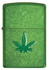 Zippo Leaf Design Pocket Lighters 29673 1