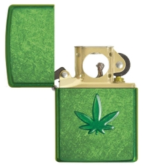 Zippo Leaf Design Pocket Lighters 29673 3
