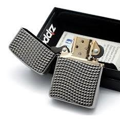 Zippo Cross Wave Ridge Armor High Polish Black Chrome 4