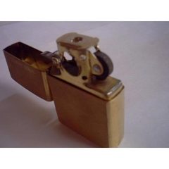 Zippo Brushed Brass Pipe 2