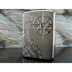 Zippo Armor Luxury Waves High Polish Chrome 5