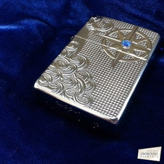 Zippo Armor Luxury Waves High Polish Chrome 6