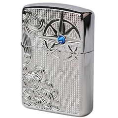 Zippo Armor Luxury Waves High Polish Chrome 1