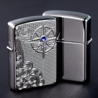Zippo Armor Luxury Waves High Polish Chrome 3