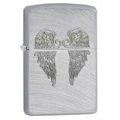 Zippo Angel Wings Chrome Arch