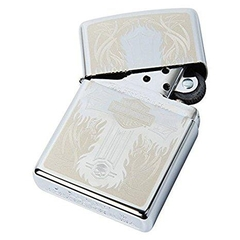 Zippo Harley Davidson Cross Polished Chrome 5