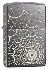 Zippo Web All Over Black Ice 28527