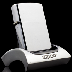 Zippo Cổ Brushed Chrome 2 Chấm 1964