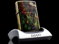 ZIPPO COTY 1995 MYSTERY OF THE FOREST (Bí Ẩn Rừng Xanh) XI 1995 9