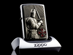 Zippo templer Crusader Limited Edition 2013 1