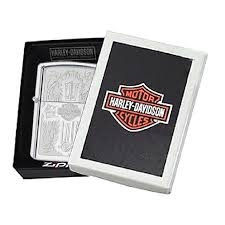 Zippo Harley Davidson Cross Polished Chrome 6