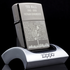 Zippo The Wall 1982-2002 VietNam Remembered 02