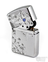 Zippo Armor Luxury Waves High Polish Chrome 2