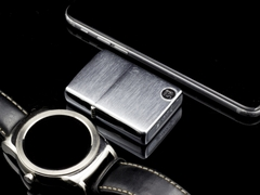 zippo Cổ Brushed Chrome 1977 5 Gạch  8