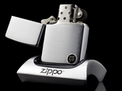 zippo Cổ Brushed Chrome 1977 5 Gạch  5