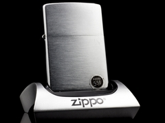zippo Cổ Brushed Chrome 1977 5 Gạch  1