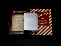 Zippo Cổ Brushed Chrome 1960 6 Chấm 6
