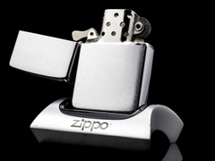 Zippo Cổ Brushed Chrome 1961 5 Chấm 5