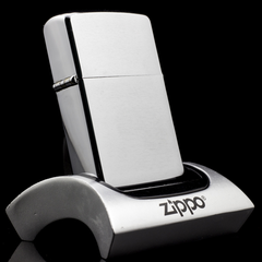 Zippo Cổ Brushed Chrome 1961 5 Chấm