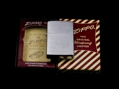 Zippo Cổ Brushed Chrome 1961 5 Chấm 7