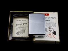 Zippo Cổ Brushed Chrome 1965 1 chấm 7