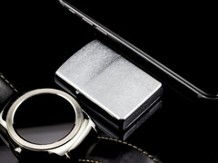 Zippo Cổ 7 Gạch Brushed Chrome 1983 7