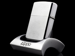 Zippo Cổ 7 Gạch Brushed Chrome 1983 4