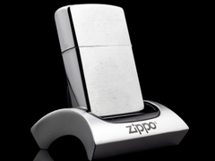 Zippo Cổ 7 Gạch Brushed Chrome 1983 3