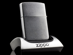 Zippo Cổ 7 Gạch Brushed Chrome 1983 1