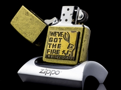 Zippo La Mã We've Got The Fire XVI 2000 5