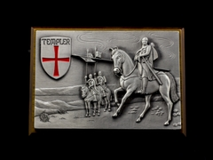 Zippo templer Crusader Limited Edition 2013 9