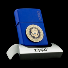 Zippo Seal Of The President Of The United States XVI 2000 Huy Hiệu Tổng Thống Mỹ Rất Hiếm