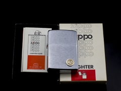 Zippo Cổ USS Brushed Chrome 2 Gạch 1980 7