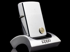 Zippo Cổ USS Brushed Chrome 2 Gạch 1980 1